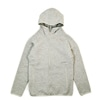 yetina full zip hoodie feather gray title=