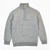 yetina snap pull over heather gray title=