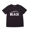 black brick dry black logo rubber pring tee black title=