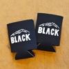 blackbrick logo print koozie title=