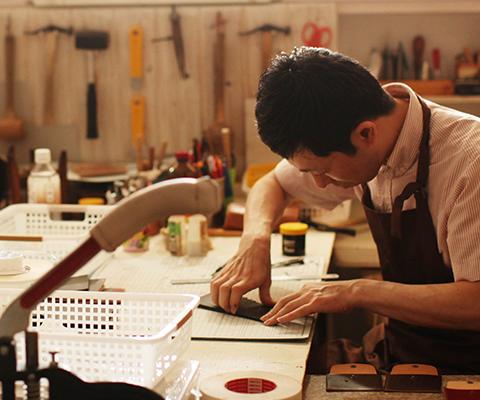 革工房の手作り革雑貨ブラン・クチュール