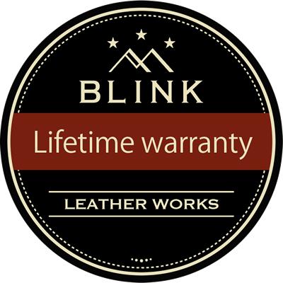 BLINK LEATHER WORKSシザーケースは永年保証