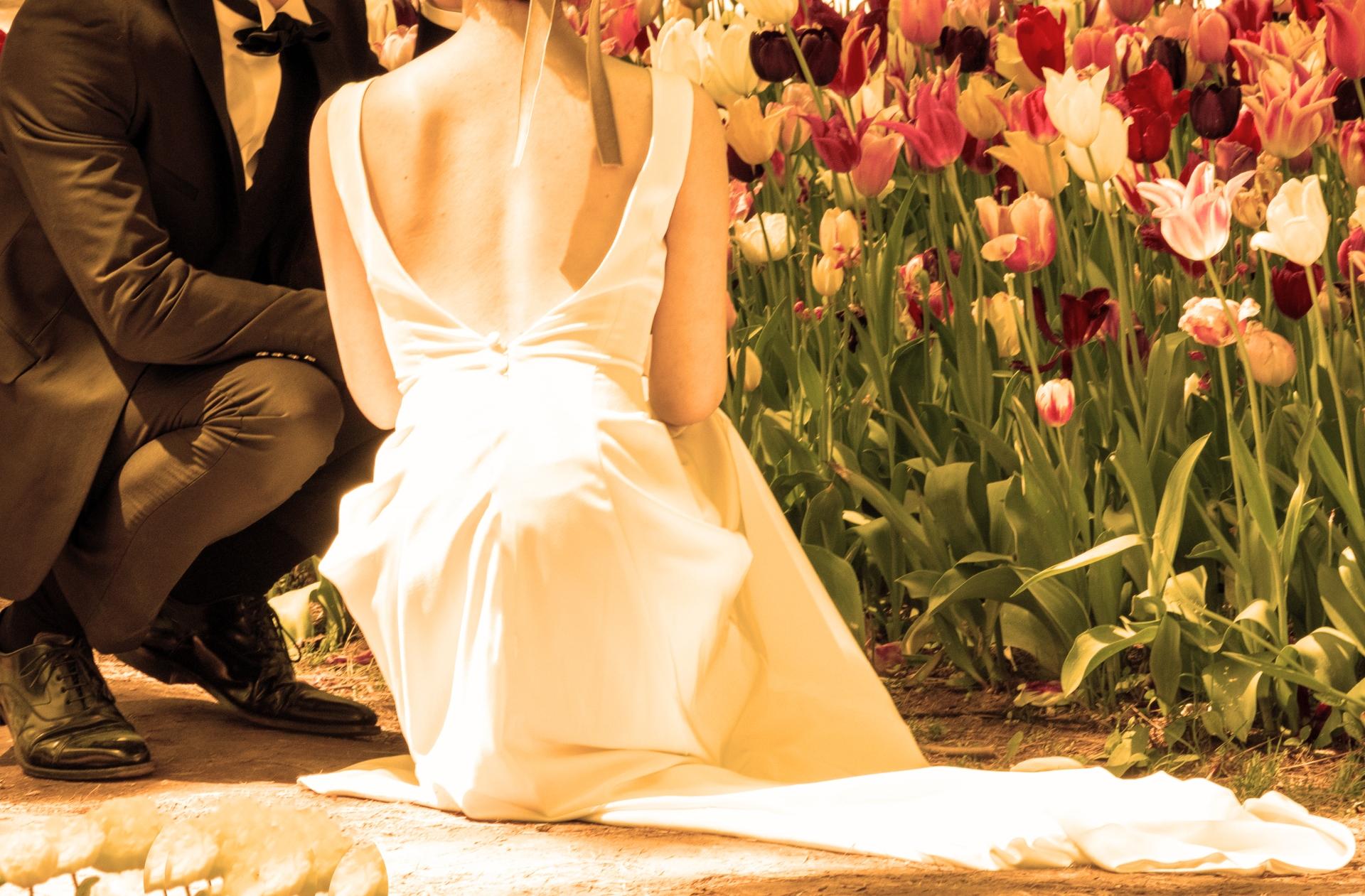 結婚式用インナー 2021年トレンドドレス 2021年秋冬婚