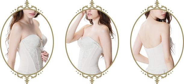 補正力のあるウエストニッパー 花嫁様の口コミで人気のインナー ドレス用下着
