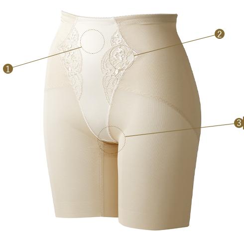 ウェディング用インナー お尻が上がってくびれを作る ウエディングドレスのヒップラインを美しく見せる
