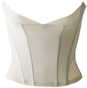 BRIDAL BEAUTÉの美しいクビレを作り、お胸の横流れを防ぐウエストニッパー