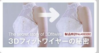 3Dフィットワイヤーの秘密