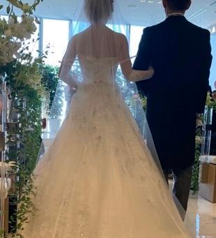文の花嫁ウェディングドレス写真