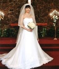 ブライダルインナーのモニターに当選された花嫁様
