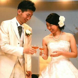 imさんの花嫁ウェディングドレス写真
