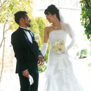 manamiさんの花嫁ウェディングドレス写真