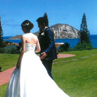 minaさんの花嫁ウェディングドレス写真
