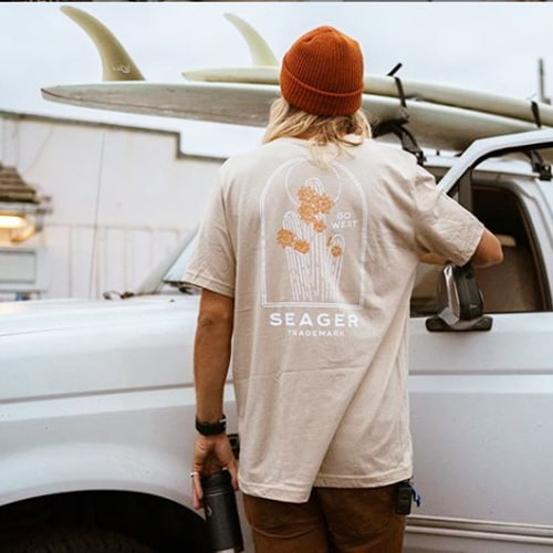 SEAGER シーガー HIGH AND DRY TEE