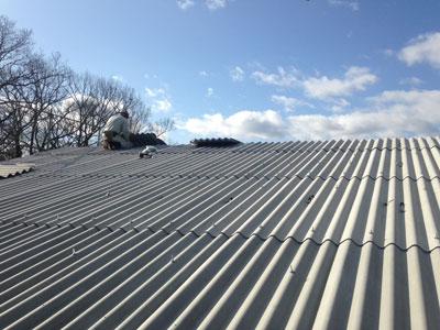 スレート屋根工事