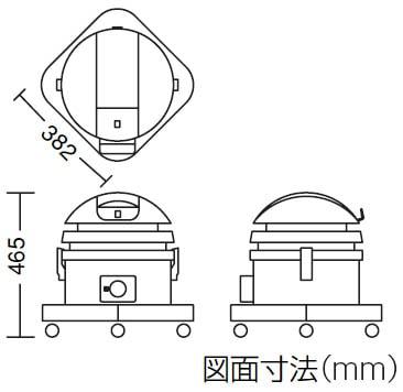 コンドルバキュームクリーナー CVC-203 付属品