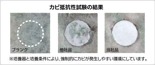 防カビ抗菌コートプラス/防カビ試験