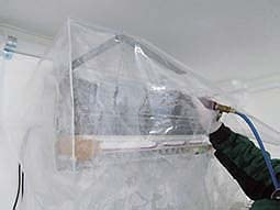 防カビ抗菌コートプラス使用方法/エアコンへの施工