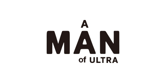 A MAN of ULTRA LOGO