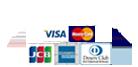 クレジットカード対応店