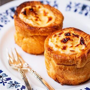 パンdeバスク風チーズケーキ
