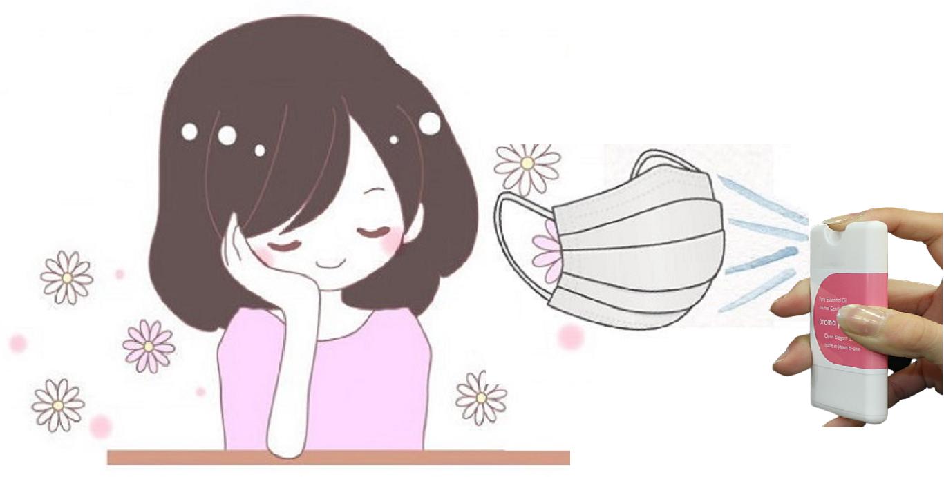 アロマ,マスク,芳香