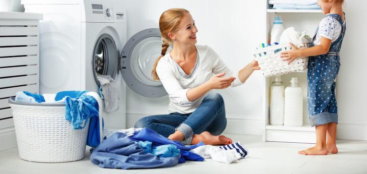 ドライ式洗濯機