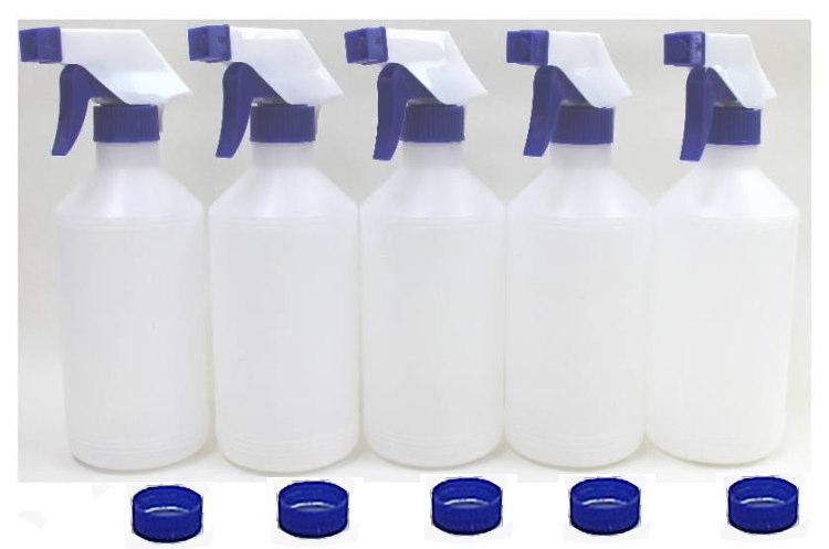詰替え用スプレーボトル5本セット販売