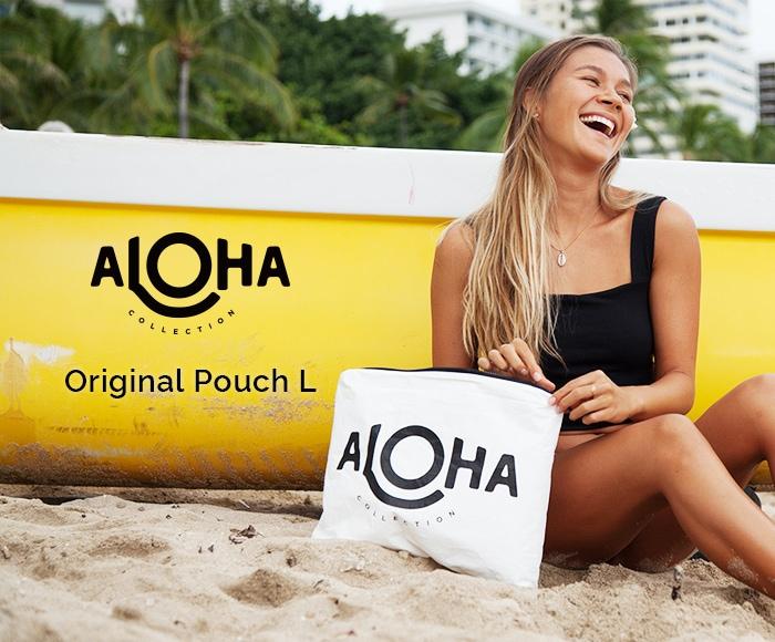 アロハコレクション/【L】Aloha Collection Pouch Original 撥水ポーチ Lサイズ