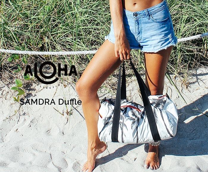 アロハコレクション SAMUDRA Duffle トートバッグ