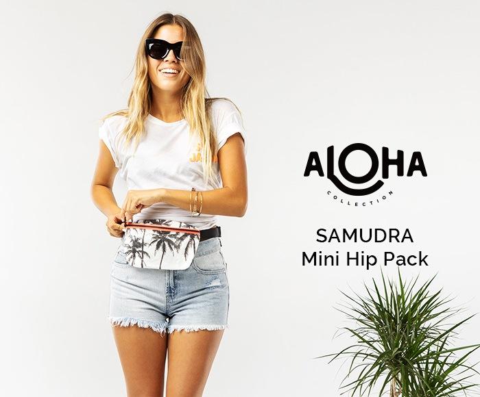 アロハコレクション Mini Hip Pack SAMUDRA ミニヒップパック