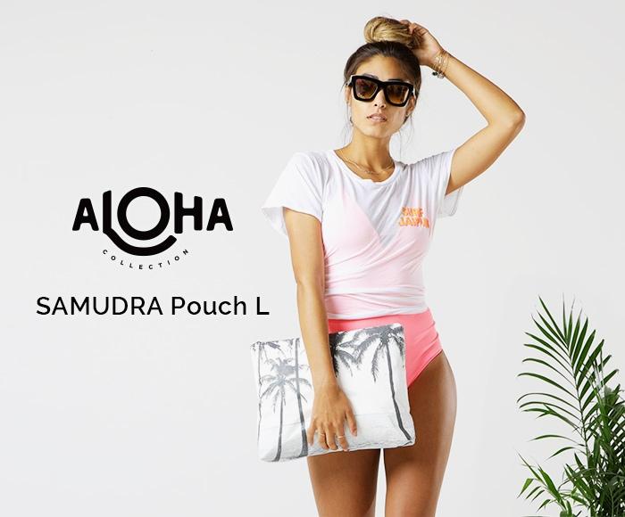 アロハコレクション/【L】Aloha Collection Pouch L SAMUDRA 撥水ポーチ Lサイズ