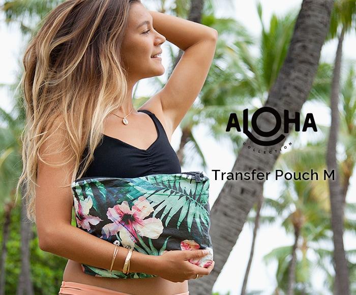 アロハコレクション/【M】Aloha Collection Pouch Transfer 撥水ポーチ Mサイズ