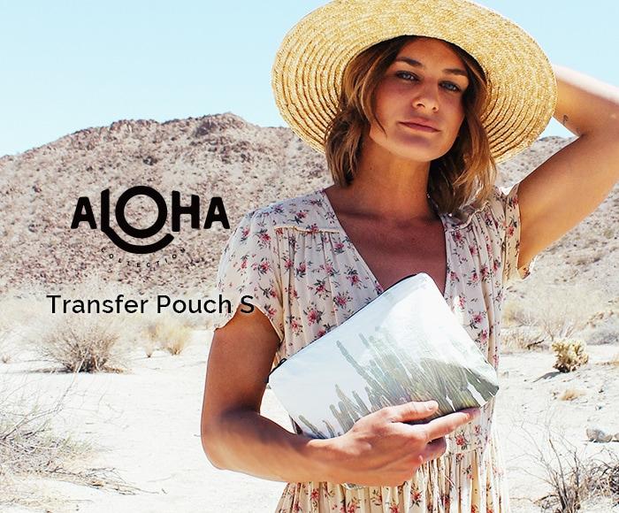 アロハコレクション/【S】Aloha Collection Pouch Transfer 撥水ポーチ Sサイズ