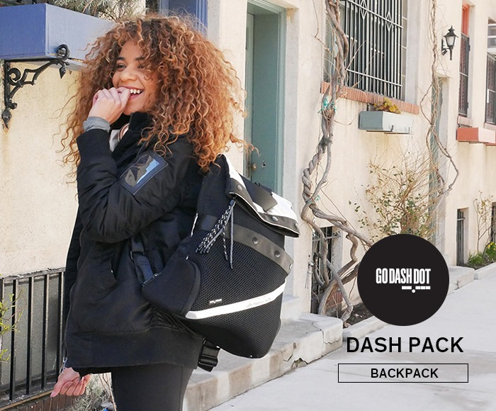 ゴーダッシュドット/GoDashDot DASH PACK バックパック