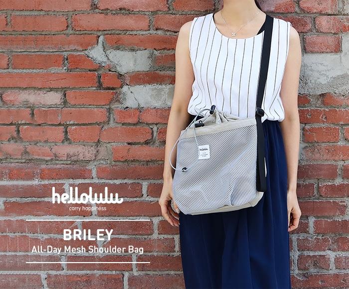 ハロルル/Hellolulu BRILEY(ブリリー)メッシュショルダーバッグ