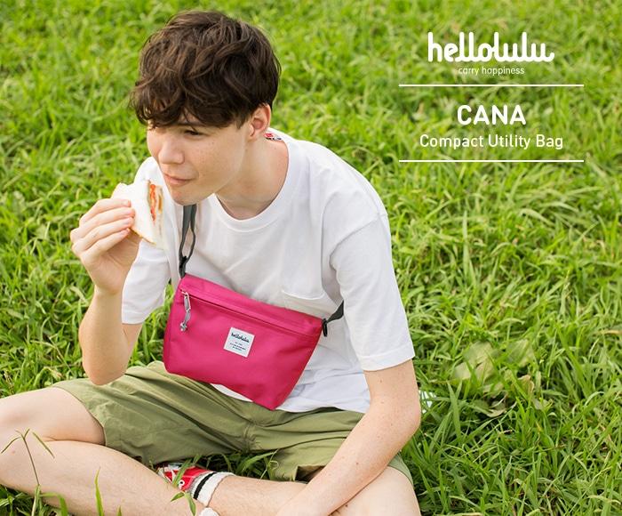 ハロルル/Hellolulu CANA(カナ) コンパクトユーティリティバッグ/ショルダーバッグ