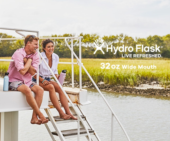ハイドロフラスク/Hydro Flask 32 oz Wide Mouth ステンレスボトル