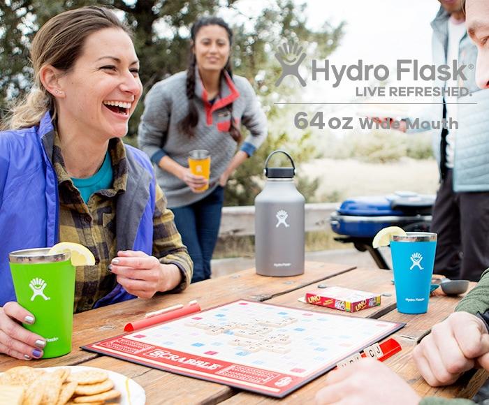 ハイドロフラスク/Hydro Flask 64 oz Wide Mouth ステンレスボトル