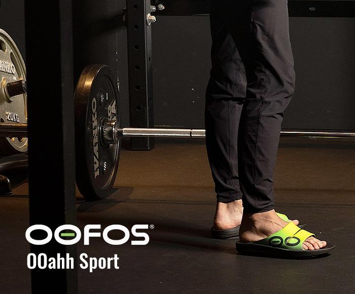 ウーフォス/OOFOS OOahh Sport(ウーアースポーツ)リカバリーサンダル