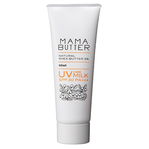 ママバター UVケアミルク 無香料