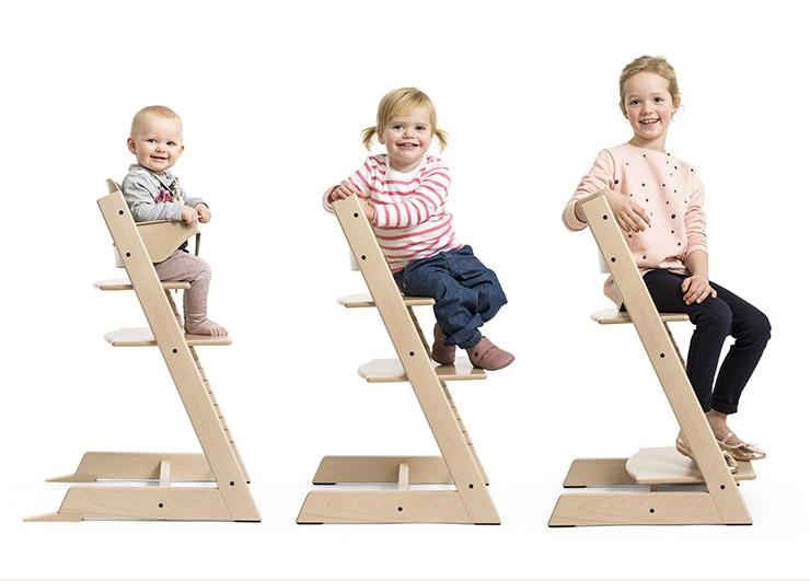 トリップトラップは子どもから大人まで使える椅子