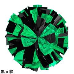 ポンポンギャラリー画像、黒、緑