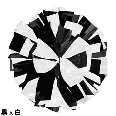 ポンポンギャラリー画像、黒、白