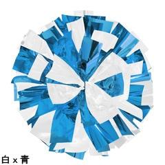 ポンポンギャラリー画像、白、青