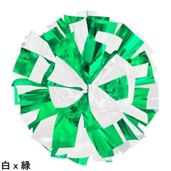ポンポンギャラリー画像、白、緑