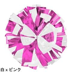 ポンポンギャラリー画像、白、ピンク