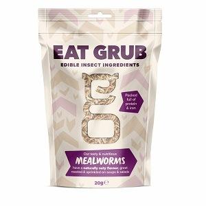 Eat Grub クッキングシリーズSmall ミールワーム 20g