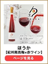 紀州南高梅&赤ワイン
