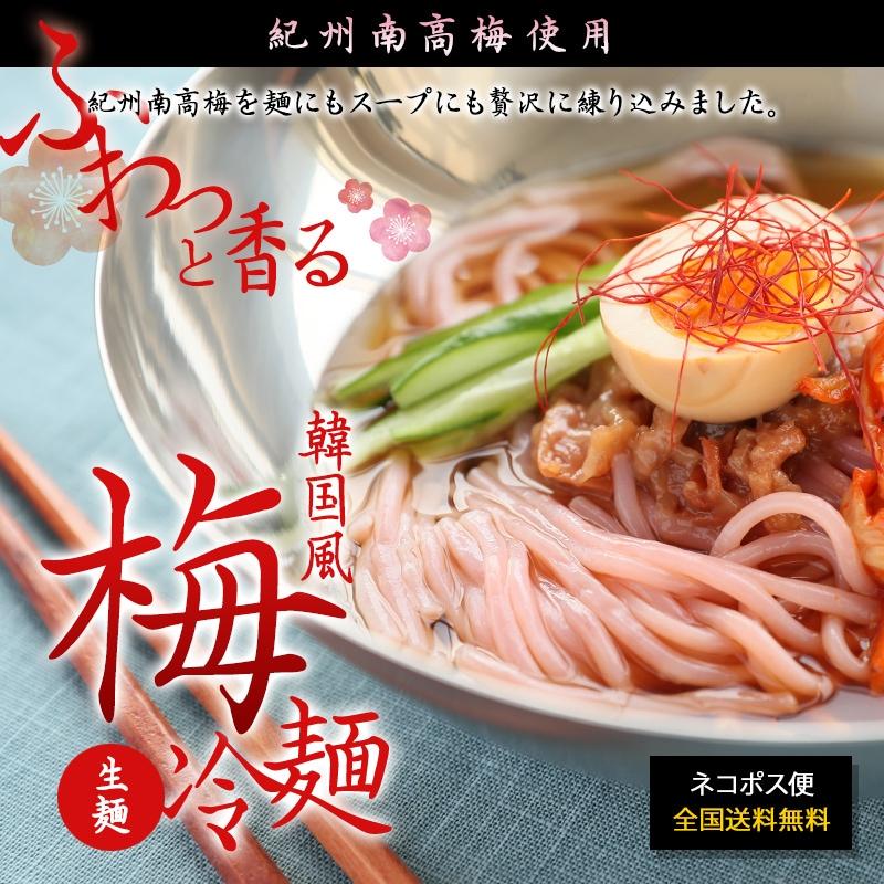 韓国風 梅冷麺 新登場!