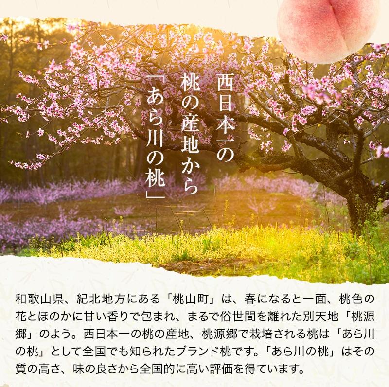 あら川の桃 桃の最高級ブランド!和歌山県産